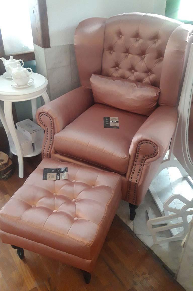 Fotelja i tabure Greta